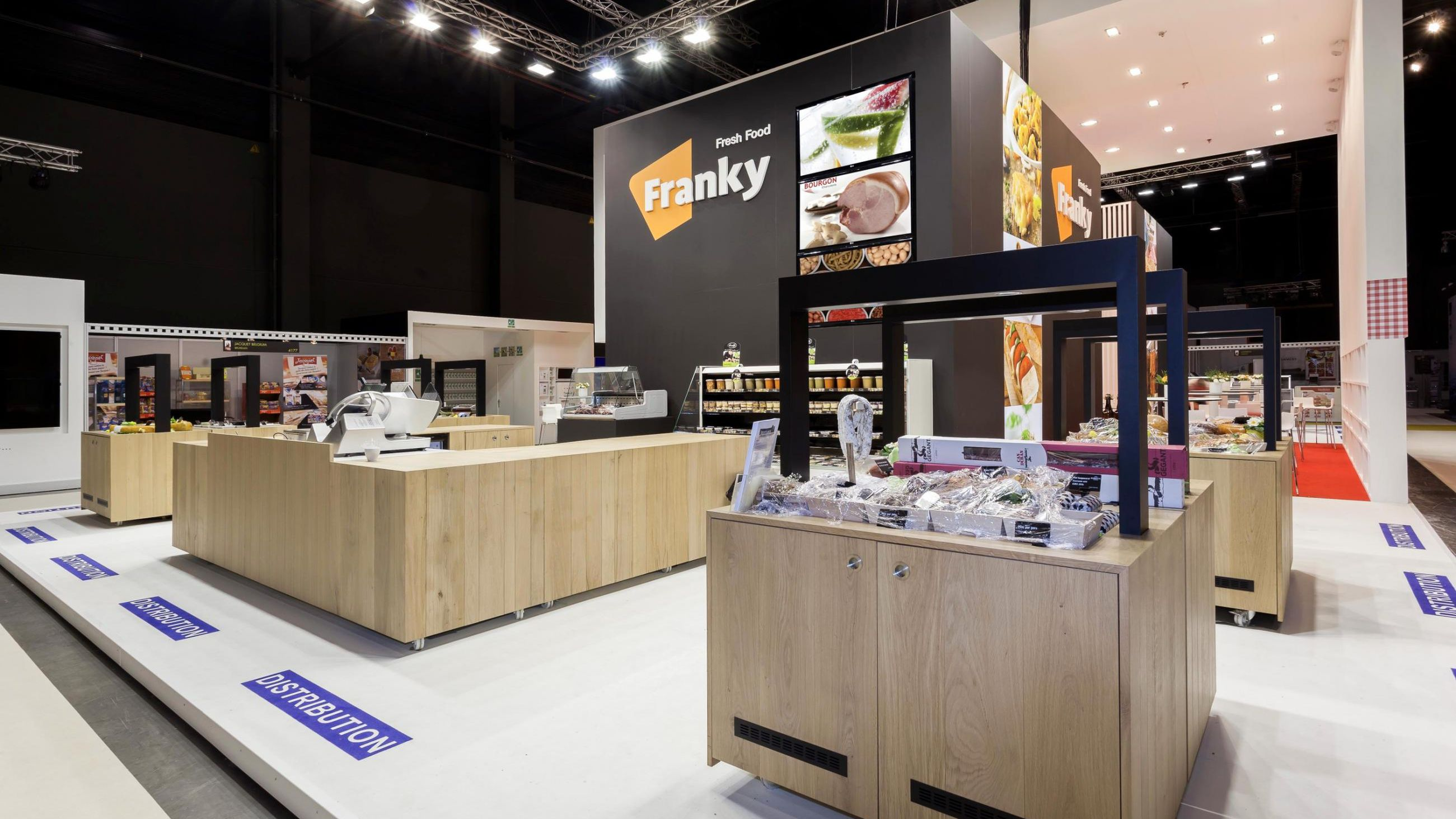 Franky Fresh Food - Willy Naessens - Standenbouw Guido Goethals