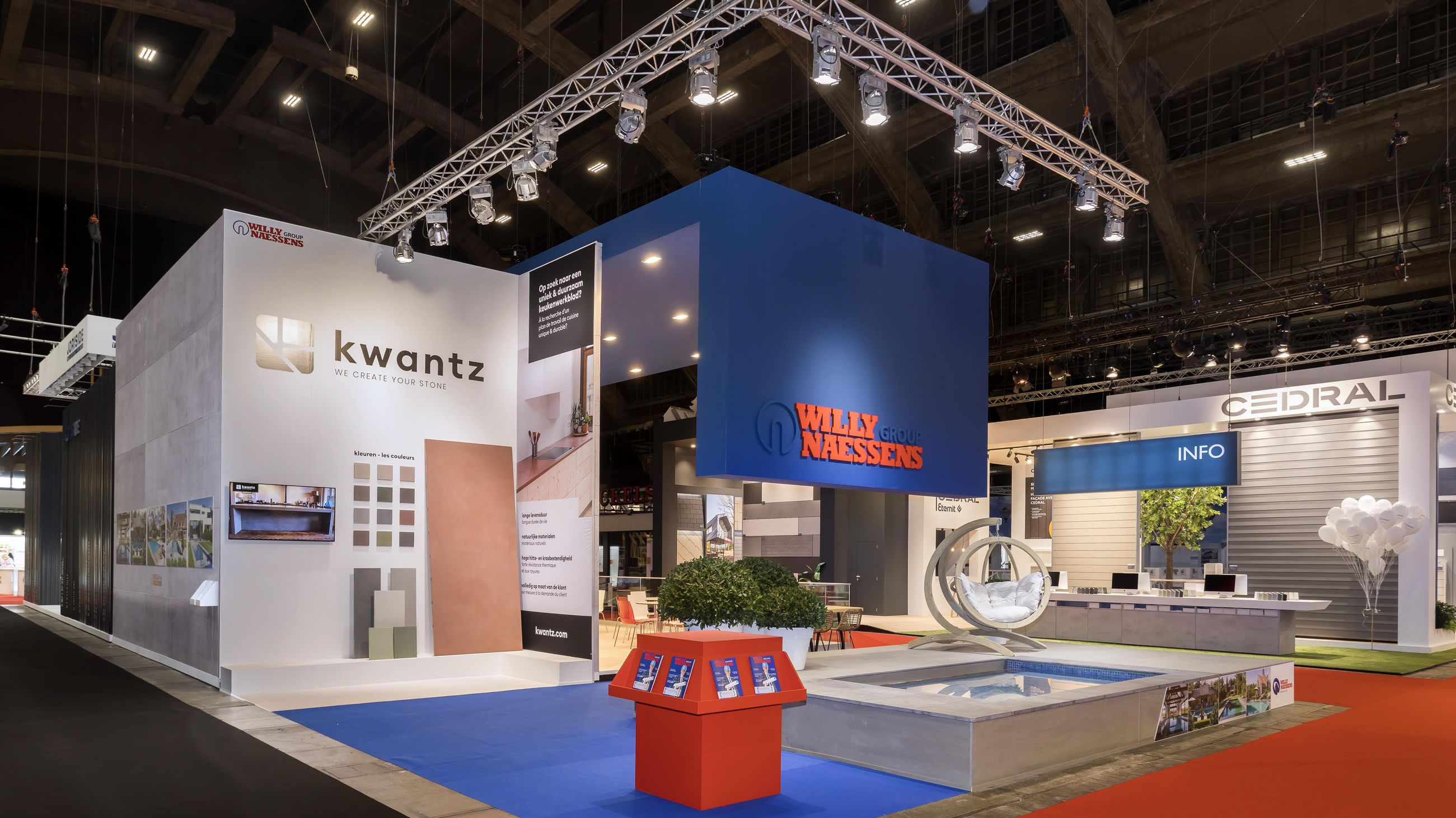 Willy Naessens - Batibouw 2020
